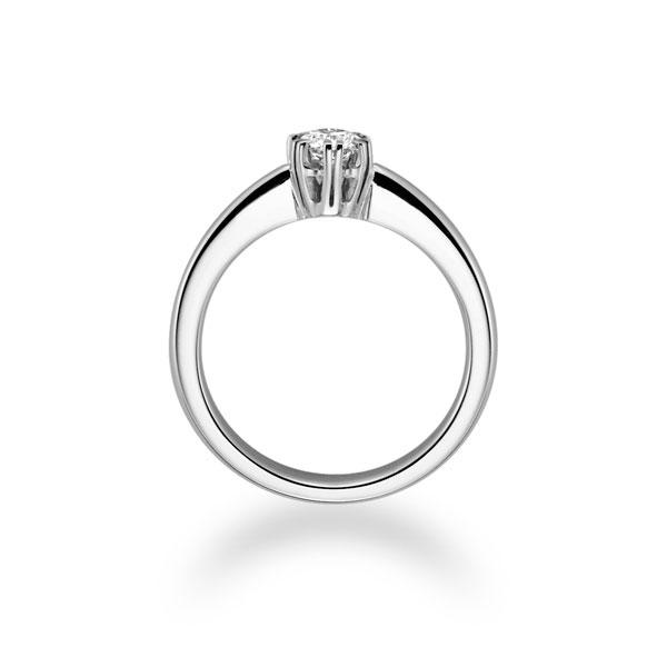 Diamantring mit 6-Krappenfassung