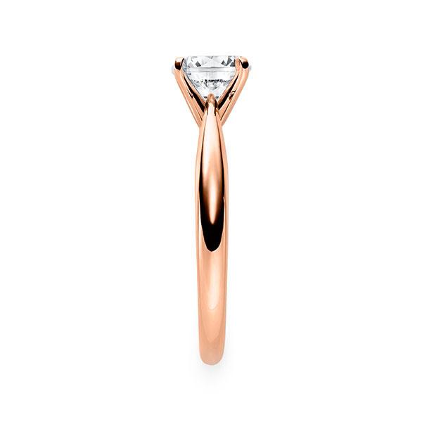 Diamantring mit 4-Krappenfassung
